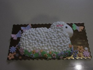 lamb figolla decorating