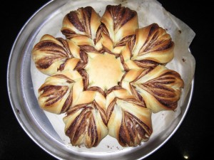star shaped nutella